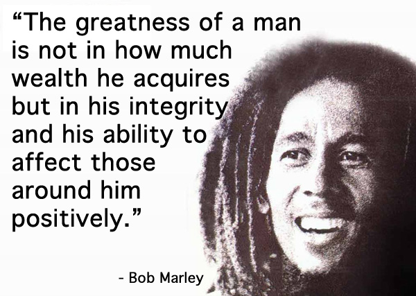 CupOfGood - Bob Marley Quote
