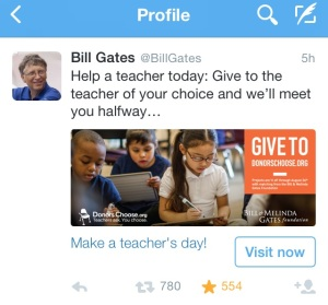 COG - Bill Gates and teachers